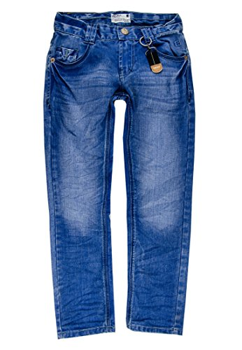 Lemmi Jungen Jeans Hose Boys Regular mid, Gr. 176, Blau (blue denim|blue 0013)
