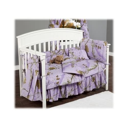 Great Realtree AP Lavender Crib Pc Set