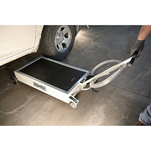 Roughneck Low Profile Oil Drain Dolly With Pump 15