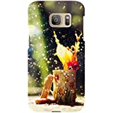 For Samsung Galaxy S7 Edge Princess ( Princess, Taj, Good Quotes, Nice Quotes, Black Background ) Printed Designer Back Case Cover By TAKKLOO