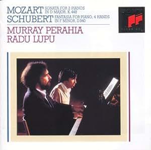 Mozart : Sonate K 448 - Schubert : Fantaisie