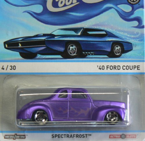 Hot Wheels Cool Classics Spectrafrost 4/30 '40 Ford Coupe
