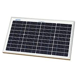 20W AKT Solar Panel Battery Charger Kit with charge controller to optimally charge your 12V battery