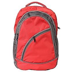 Greentree Backpack Multi Purpose Bag Unisex College Designer Red Bag MBG10