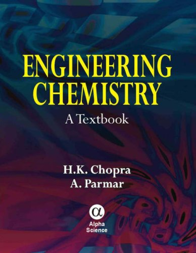 Engineering Chemistry: A Textbook