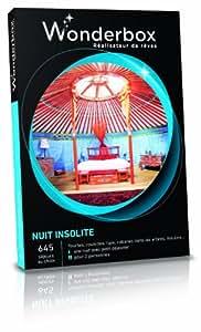 WONDERBOX - Coffret cadeau - NUIT INSOLITE