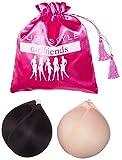 PURE STYLE Girlfriends Women's Captivate Adhesive Convertible Push-Up Bra 2-Pack