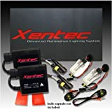 Luces para automovil XENTEC 9006 6000K HID Balastro Slim, Kit Xenon HID (HB4, Ultra Blanco) Offroad