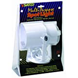 Satco Products SF77/395 Multi-Purpose Portable Spot Light, White