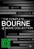 DVD Cover 'The Complete Bourne 4 Movie Collection [4 DVDs]