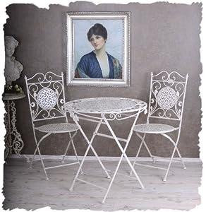 gartenm bel nostalgisch. Black Bedroom Furniture Sets. Home Design Ideas