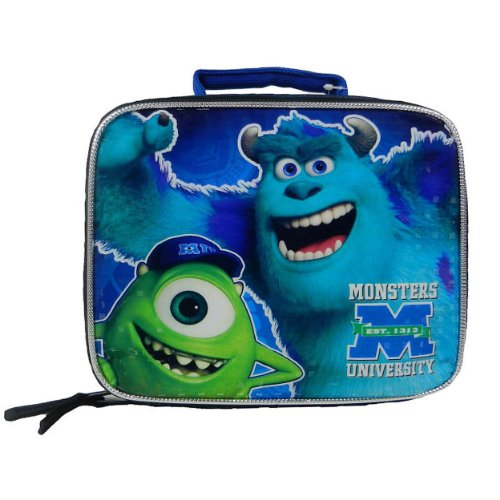 "Disney Monsters University ""Est. 1313"" Rectangular Children's School Lunchbox - 1"