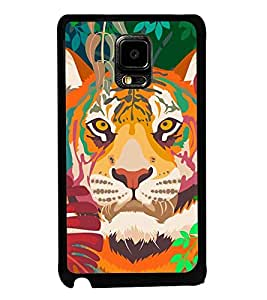 Lion 2D Hard Polycarbonate Designer Back Case Cover for Samsung Galaxy Note Edge :: Samsung Galaxy Note Edge N915FY N915A N915T N915K/N915L/N915S N915G N915D