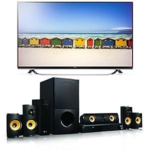 LG 49UF8509 123 cm (49 Zoll) Ultra HD Fernseher + LG LHA825W 5.1 3D Blu-ray Heimkinosystem