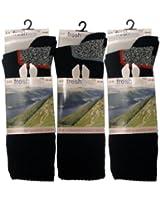 3 Pairs Freshfeel Mens Ultimate Walking Hiking Boot Socks By Undercover
