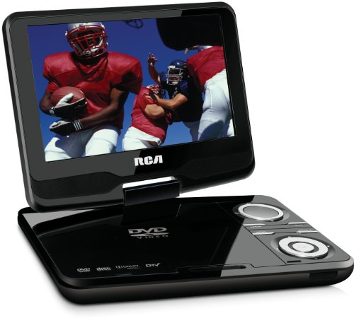 RCA DPDM90R 9-Inch Portable Digital TV with Built-In DVD (Black)