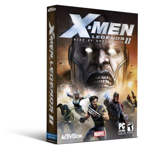 X-Men Legends II Rise of the Apocalypse 250mb Only