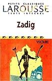 echange, troc Voltaire - Zadig ou la Destinée