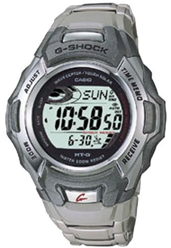 Buy Casio MTG900DA-8V Mens G-Shock Atomic Solar Metal Band Watch