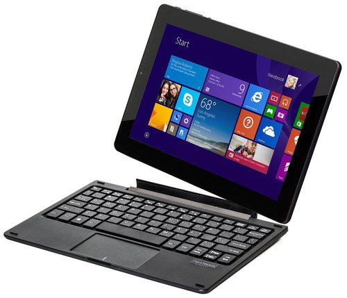 Nextbook 10.1 Intel Quad Core 2 in 1 Detachable Windows 8.1 Tablet / Notebook at Electronic-Readers.com