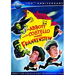 Abbott & Costello Meet Frankenstein [DVD + Digital Copy] (Universal's 100th Anniversary)