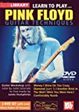 echange, troc Learn to Play Pink Floyd Guitar Techniques [Import USA Zone 1]