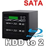 Spartan 500GB Hard Drive To 2 Target Multiple Blu Ray Disc Copy Duplicator With USB Connection To PC Standalone...
