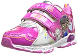 DISNEY Doc McStuffins Running Shoe (Toddler/Little Kid),Raspberry,5 M US Toddler