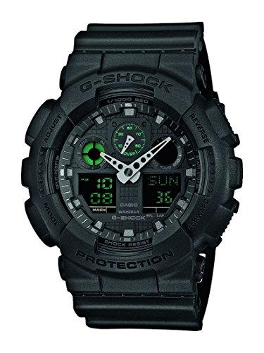 G-Shock-Herren-Armbanduhr-Xl-G-Shock-Analog-Digital-Quarz-Resin-Ga-100Mb-1Aer