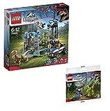 Lego Jurassic World Raptor Escape 75920 and Gallimimus Trap 30320 Bundle