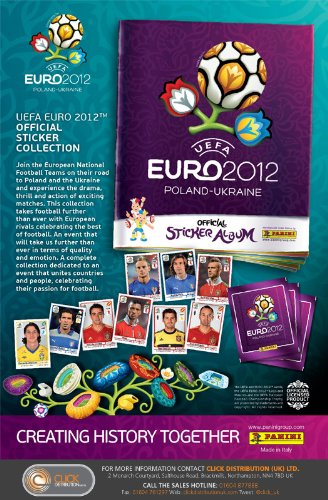 Panini Euro 2012 Official Sticker Collection Starter Pack