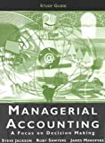 img - for Managerial Accounting Study Guide book / textbook / text book