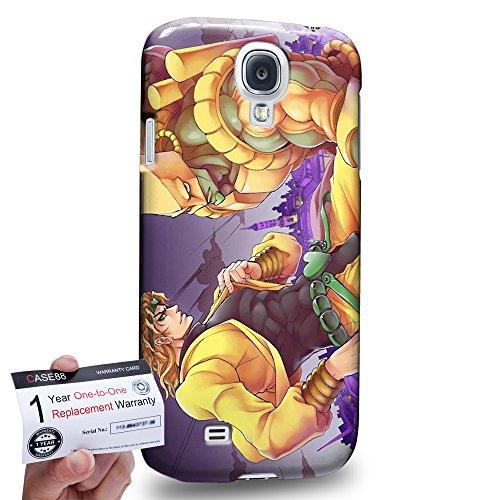 Case88 [Samsung Galaxy S4] 3D stampato Custodia/Cover Rigide/Prottetiva & Certificato di garanzia - JoJo's Bizarre Adventure: Stardust Crusaders Dio The World 3018