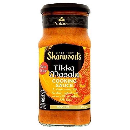 Spicy Tikka Sauce de cuisson 420g de Sharwood