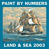 Paint by Numbers Land & Sea Calenda (0789307855) by RIZZOLI