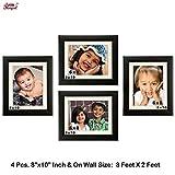 Ajanta Royal Classic set of 4 Individual Photo Frames (4-8x10 Inch) - WPC-12