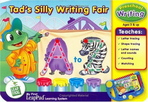 LeapFrog My First LeapPad Educational Book: Tad's Silly Writing Fair