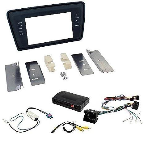 Kit d'installation radio auto pour Skoda Octavia (Type 5E)