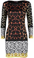 (womens Nicki Minaj multiple colour leopard print dress(mtc) Femmes Nicki Minaj de multiples couleur imprimé léopard robe