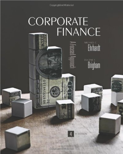 Corporate Finance (with Thomson ONE - Business School Edition) (Available Titles Cengagenow)