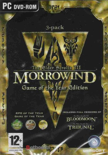 Elder Scrolls Iii: Morrowind (Game Of The Year Edition) front-883515