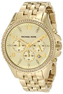 Michael Kors Women's MK5347 Pilot Gold Watch