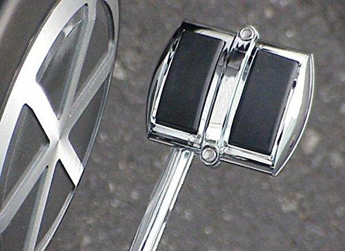 i5® Chrome Rear Brake Pedal Cover for Honda Kawasaki Suzuki & Yamaha Cruisers.