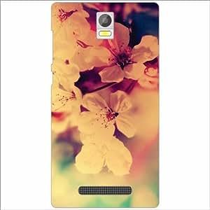 Xolo Era Back Cover - Silicon Flower Designer Cases