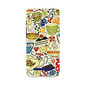 Ebby Abstract Tea Party Premium Printed Case For Asus Zenfone Go