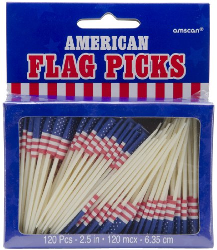 Sale alerts for Leadoff Flag Picks 2.5'' 144/Pkg-American - Covvet