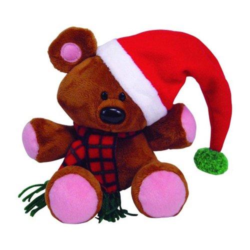Ty Beanie Buddies Pooky - Holiday's Bear