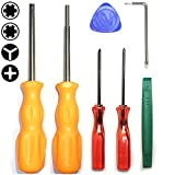 E-Durable Professional Nintendo Products Full Tool Kit, Security Screwdriver Game Bit Set - Lifetime Warranty