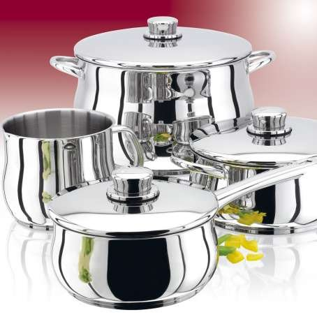 Stellar 1000 5 Piece Set - 14cm MP, 16/18/20cm SP & 24cm Open Frypan