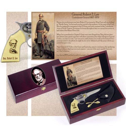 General Robert E. Lee Pistol Gun Knife Kepi Pin Collectors Set